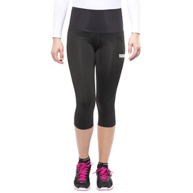 GORE RUNNING WEAR AIR 3/4 Tights Lady black/silver